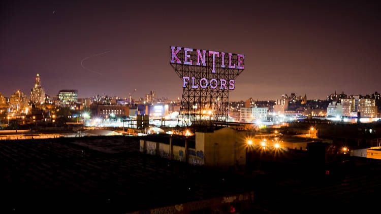 Is Brooklyn's Kentile Floors sign coming back in a NYC playground?