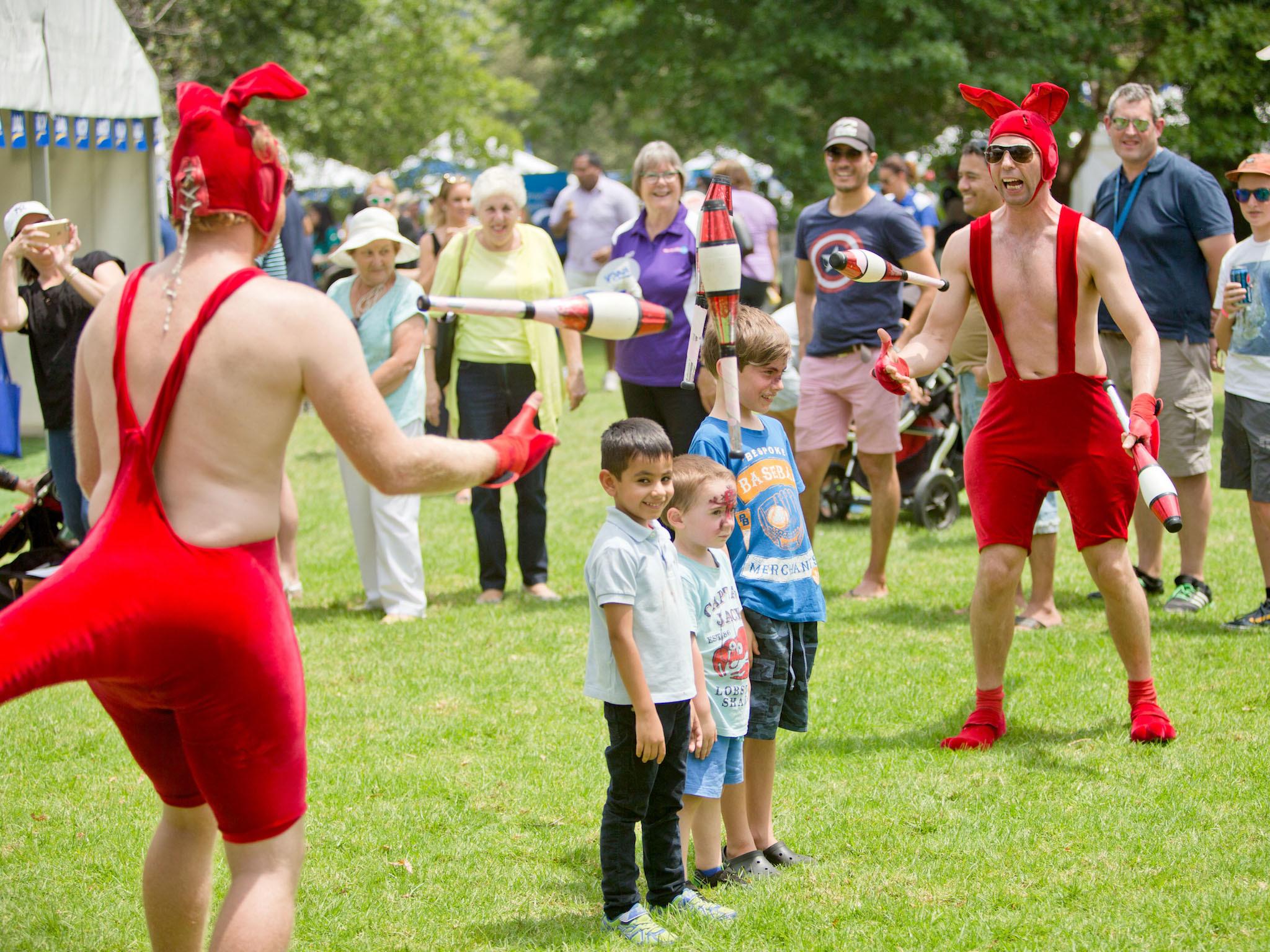 RACV Australia Day Festival in Kings Gardens