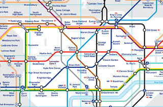 London Public Transport Map.How To Get Out And About In London Public Transport In London