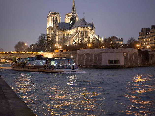 Une croisière avec Bateaux Parisiens