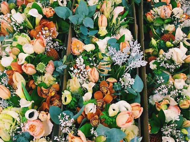 Mercado de flores de San Ángel