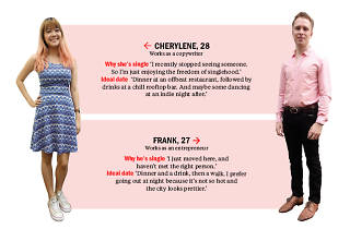 Find me a date: Frank and Cherylene