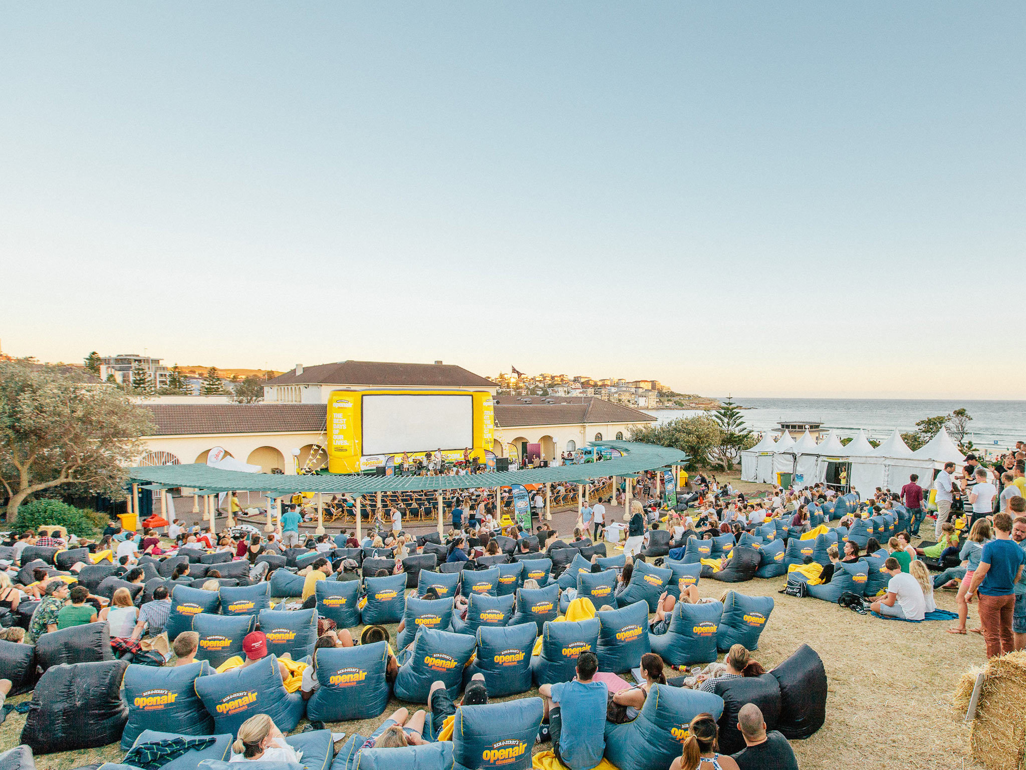 Ben and Jerry's Openair Cinemas Bondi