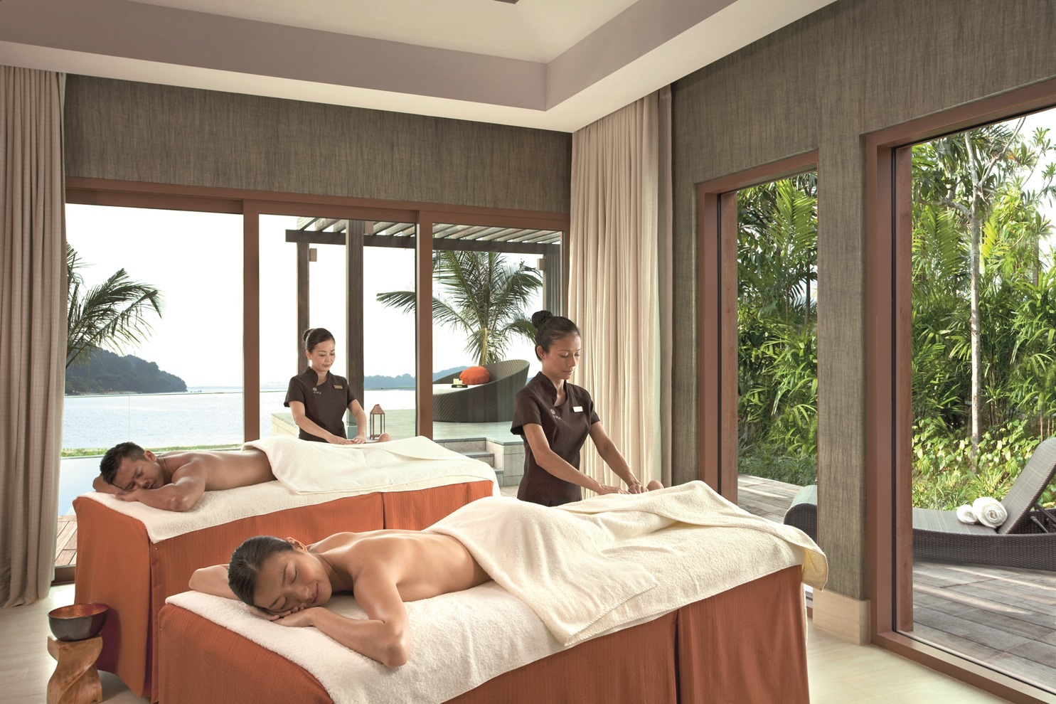 Seven couple spas in Singapore