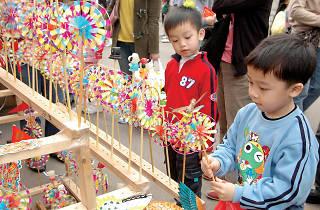 農曆新年年宵市場(花市)