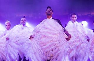 Briefs The Second Coming 2017 Sydney Festival production still feat ensemble (c) Time Out Sydney photographer Daniel Boud