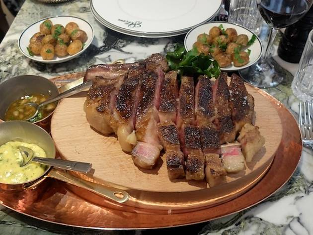Clover grill restaurants à les halles paris