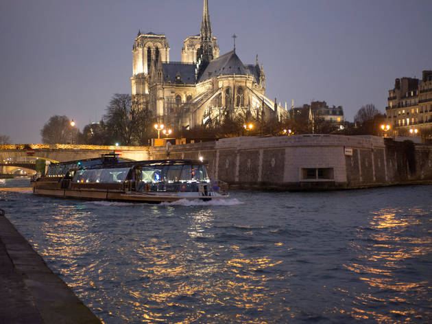 Try a cruise with Bateaux Parisiens