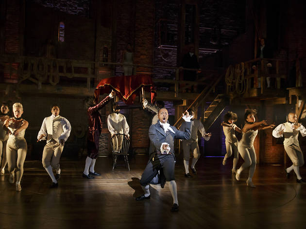 'Hamilton' tickets are being re-sold for £2,500 despite anti-touting measures