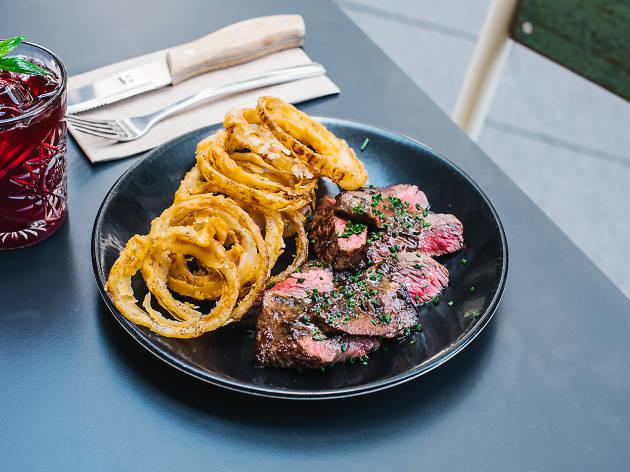 Wagyu steak: Devon Café