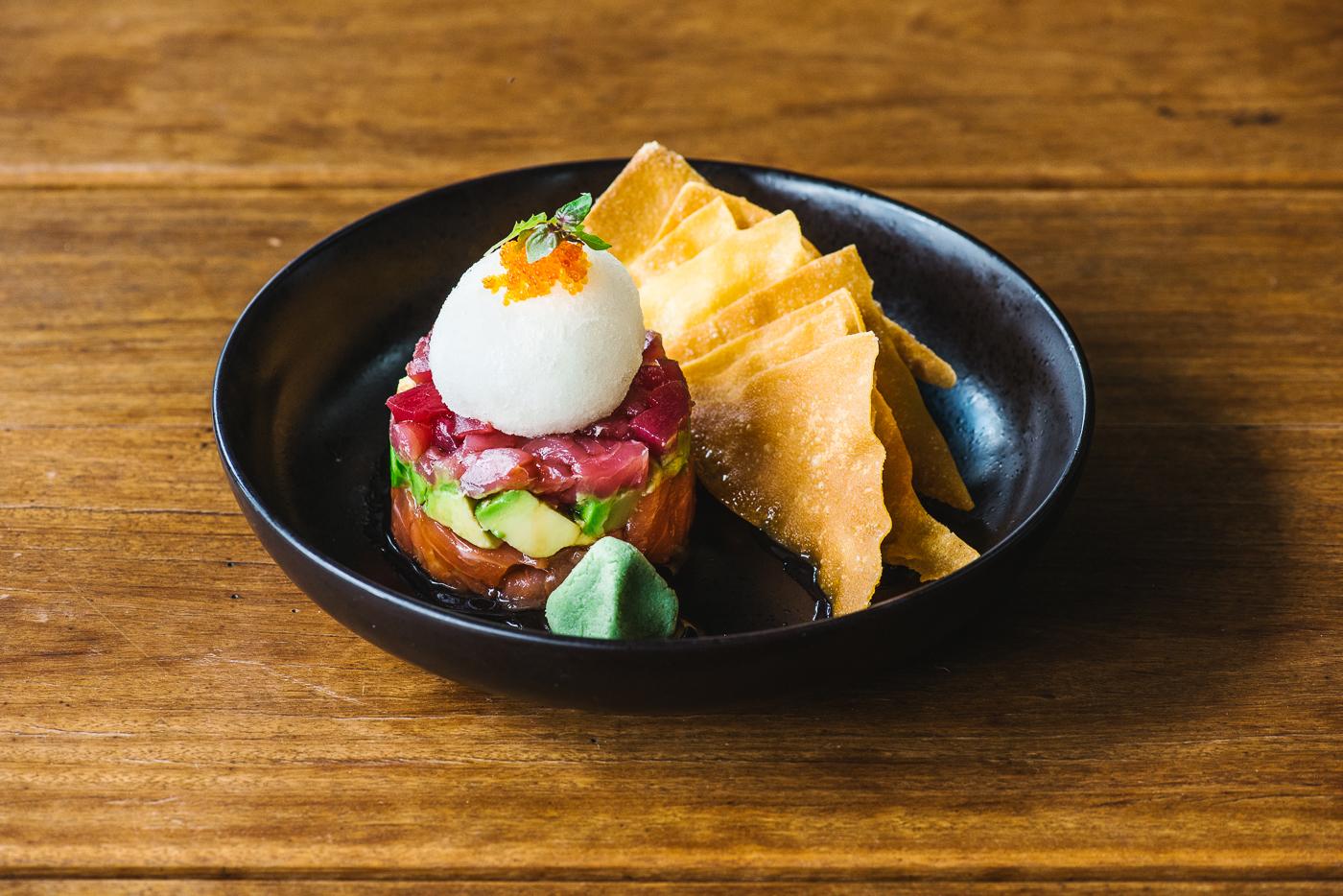 Sashimi tacos: Zushi