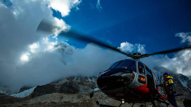 Estreno en Discovery Channel de Everest Rescue