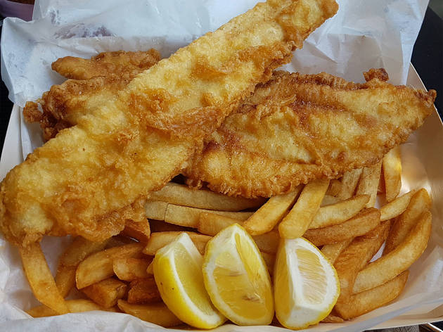 The 10 best fish and chips in melbourne for Best fish and chips nyc