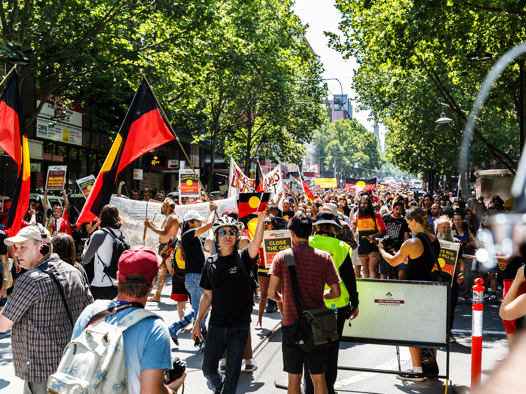 Invasion Day Rally in Melbourne, 2016