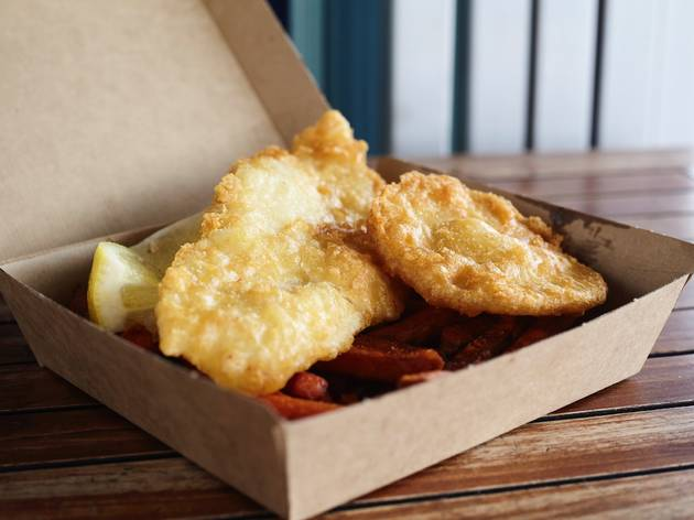Kiwi Style Fish and Chips