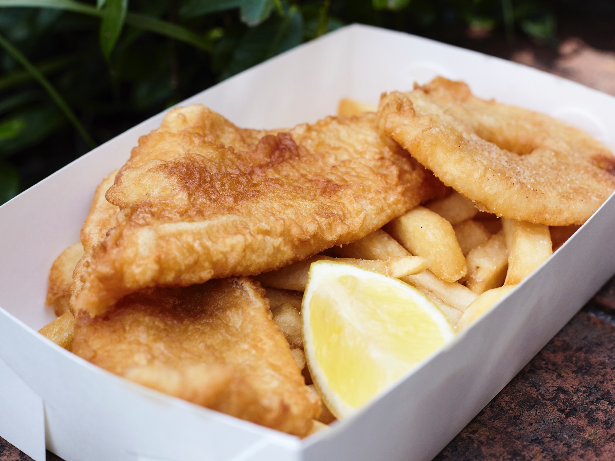 Olde Fashioned Fish and Chips
