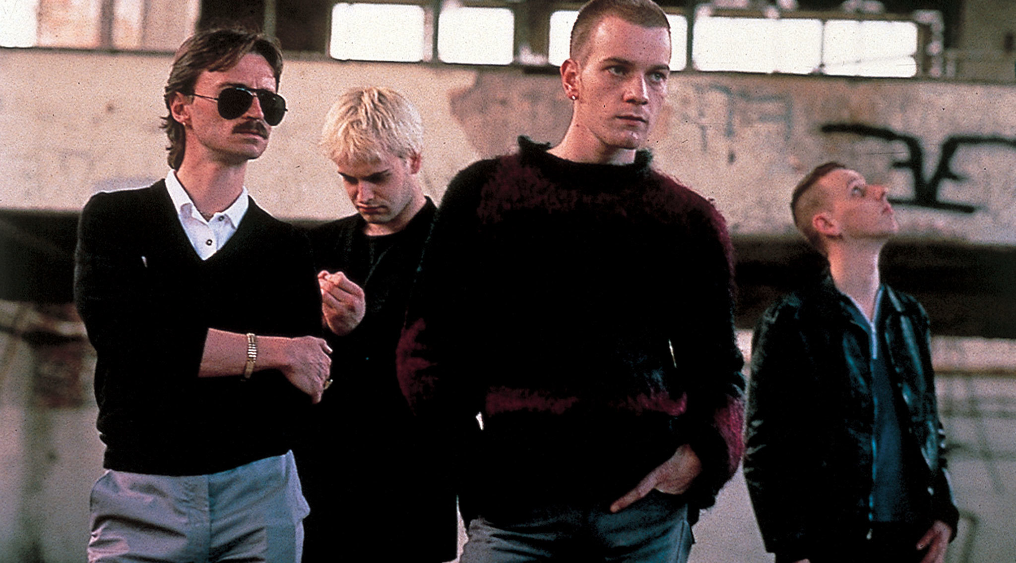 Four questions with the four original stars of Trainspotting