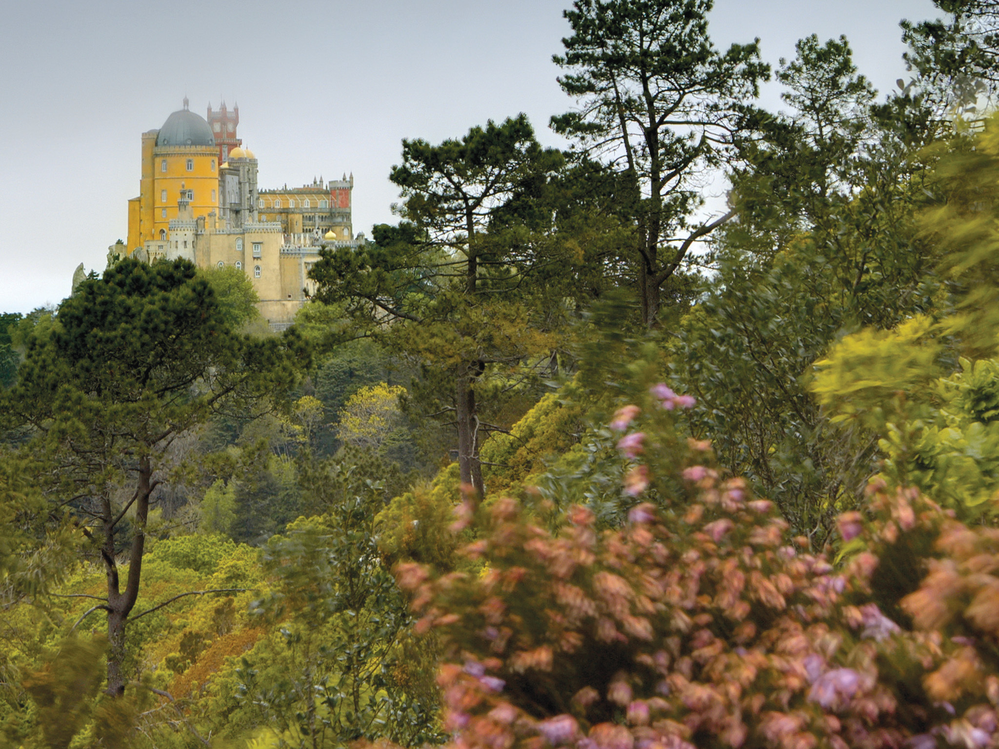 Fun things to do near Lisbon: visit Sintra