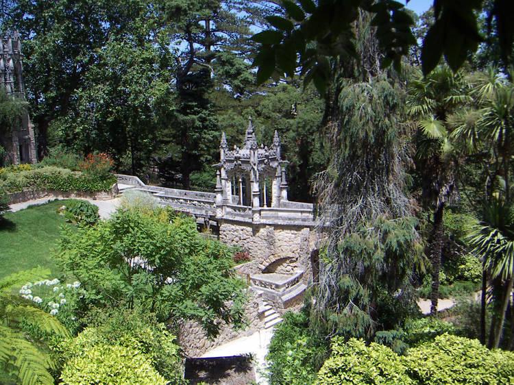 Passear na Quinta da Regaleira