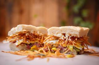 london's best sandwiches, max's sandwich shop