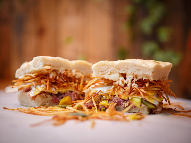 Max's Sandwich Shop is throwing a huge party at Birthdays with FREE sandwiches and booze