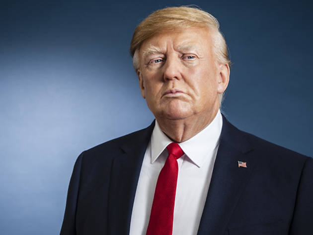 In pictures: a Donald Trump waxwork has been unveiled at Madame Tussauds