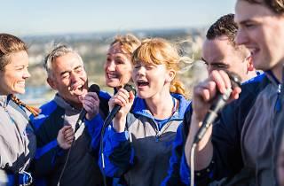 Promo still for Karaoke Sydney Harbour Bridge Climb