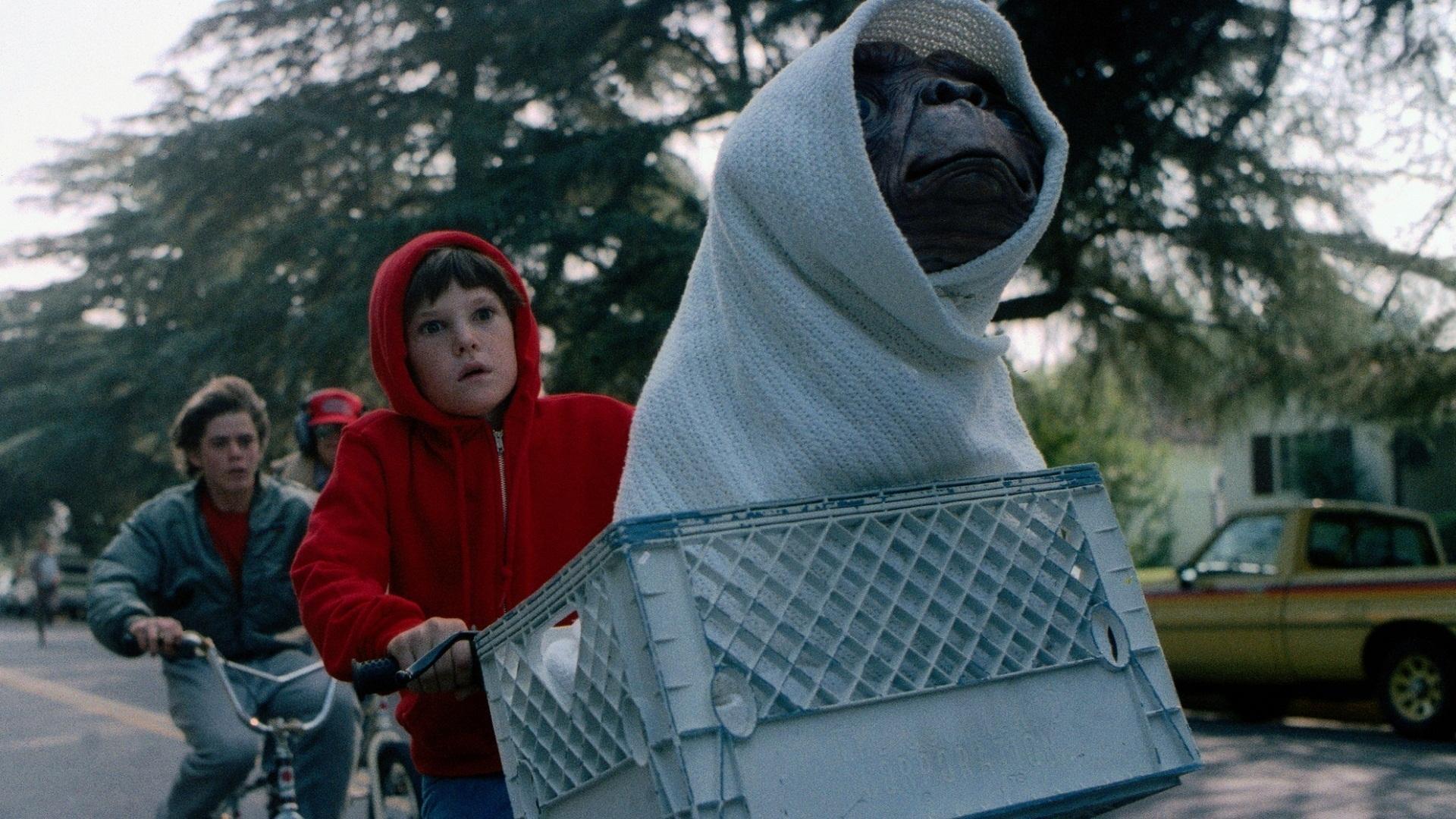 ET riding bike film still