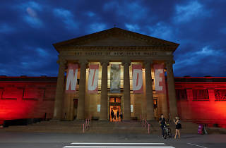 Nude at Night Art Gallery of NSW