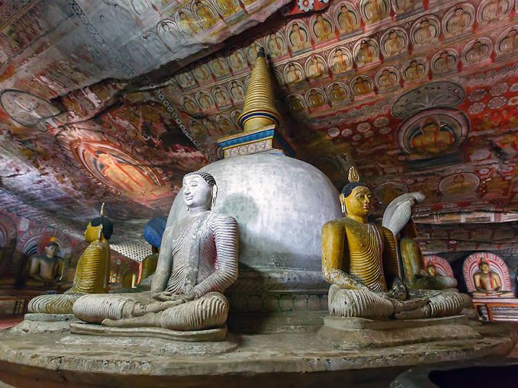 Dambulla and Sigiriya