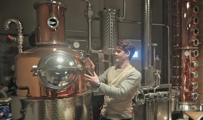 La Distillerie de Paris : spiritueux spirituels