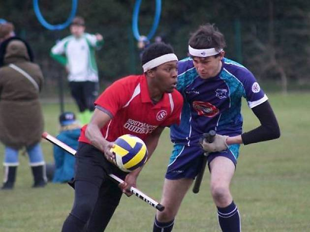 Quidditch team the London Monarchs is holding try-outs this month