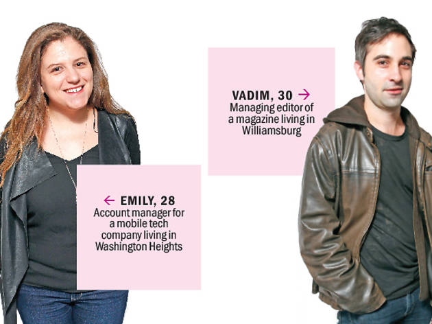 Meet the Undateables: Emily and Vadim