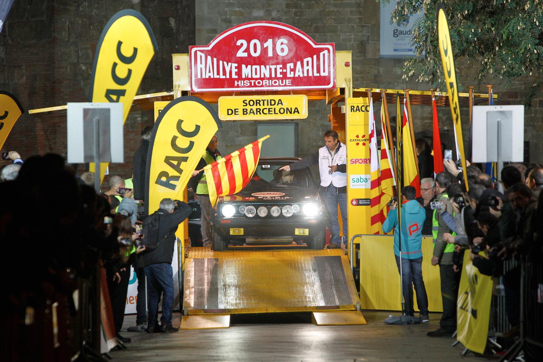 Sortida del Ral·li Monte-Carlo Històric