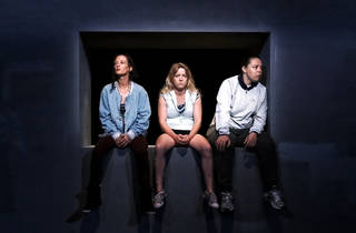 Shit 2017 Sydney Festival at Seymour Centre production still 01 feat Peta Brady Nicci Wilks Sarah Ward photographer credit Prudence Upton