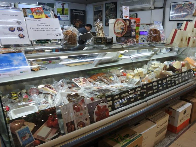양질의 치즈와 훈제식품 – 한스 앤 그레텔