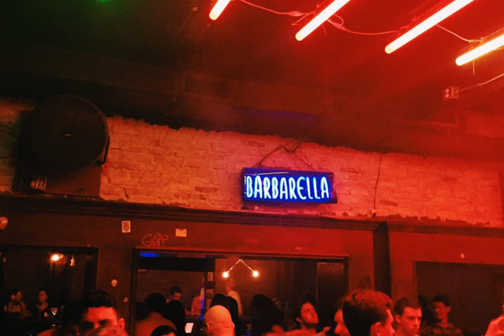 Most loved club or party: Barbarella