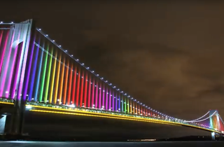 NYC's bridges will soon be outfitted with festive, choreographed lights