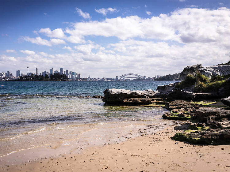 Where to see Sydney's city skyline