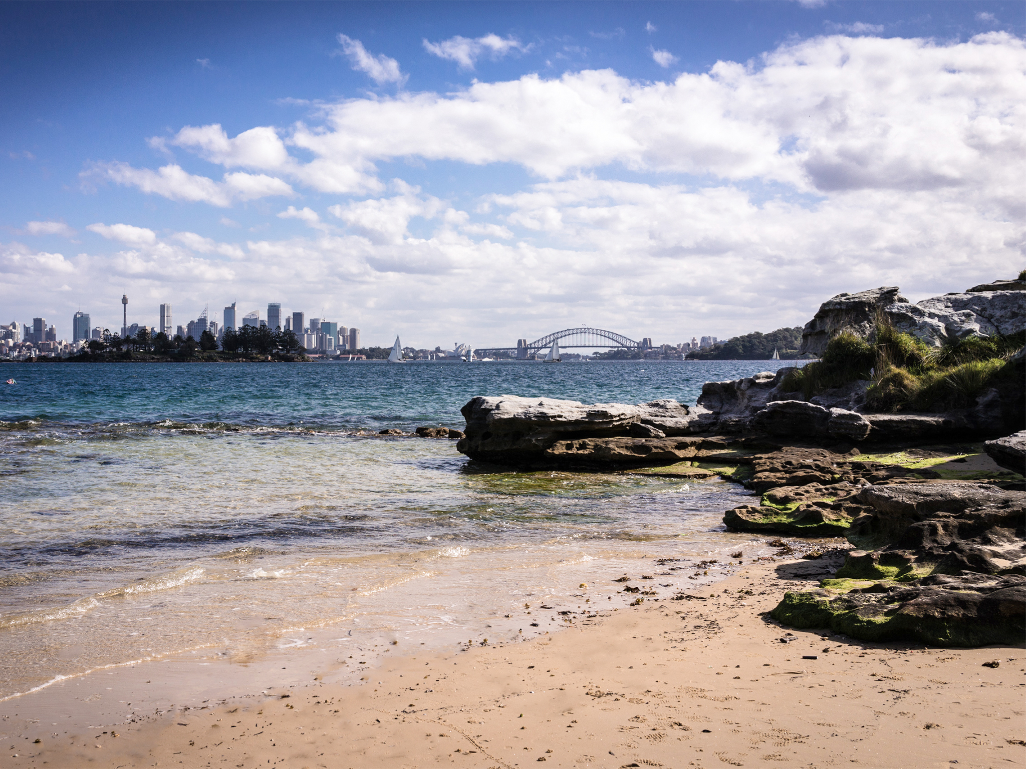 Milk Beach at Vaucluse