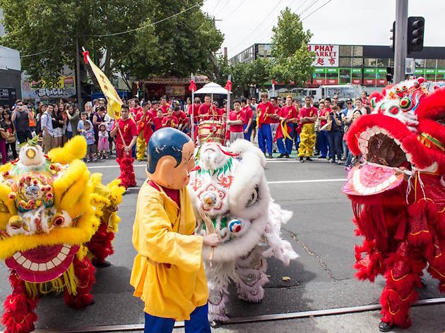Lunar New Year at Victoria Street Richmond