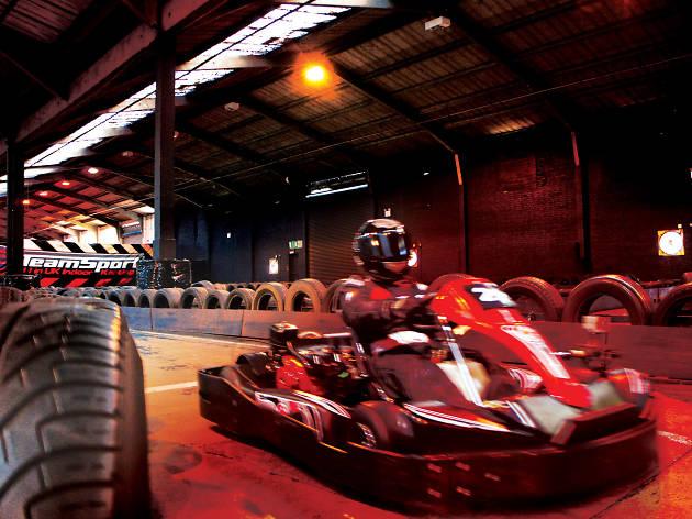 Go Karting Team Sport