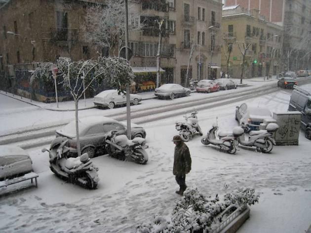Coses divertides per fer quan neva a Barcelona