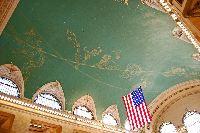 Image result for ceiling of grand central Terminal