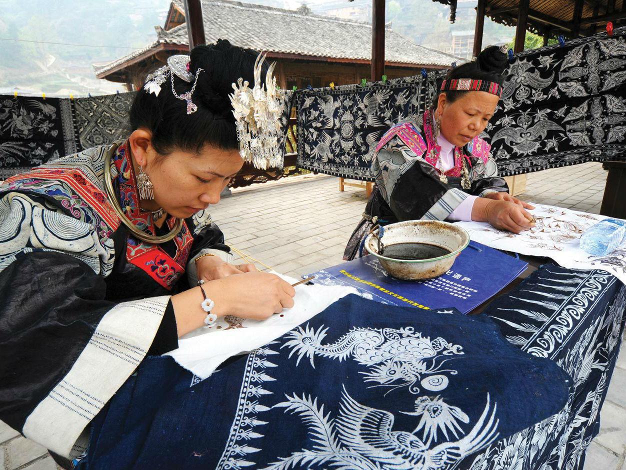 Memoria de las manos. Esplendor y colorido del patrimonio de Guizhou
