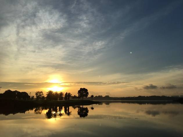 Lower Seletar Reservoir, sunrise
