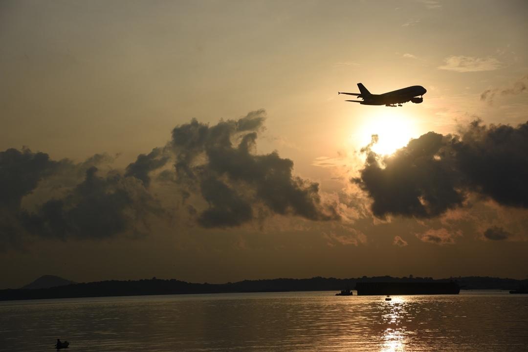 Changi Beach, sunrise