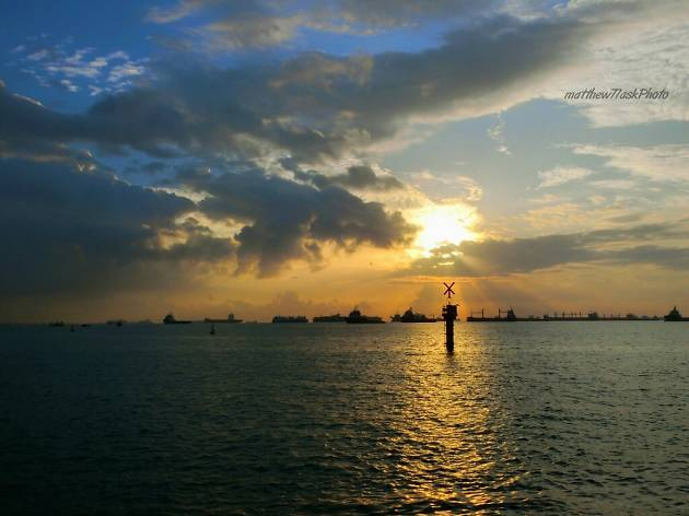 Marina Barrage, sunrise