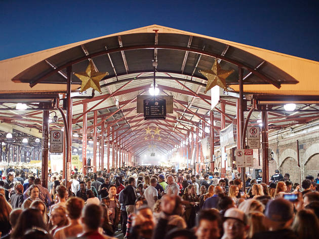 Queen Victoria Market's Summer Night Market in Melbourne