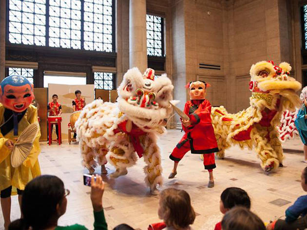 Lunar New Year Celebration at The Asian Art Museum